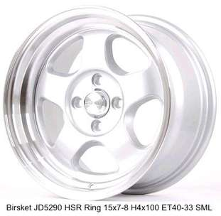 velg recing murah Cikarang ring15 lobang4 buat Brio march jazz dll