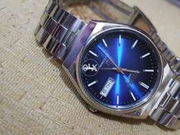 Original Citizen Cryston Shiny Blue Dial Japan