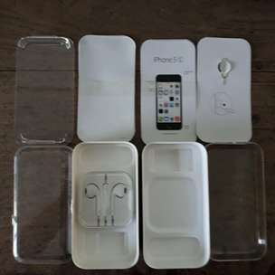 Box Iphone 5c putih
