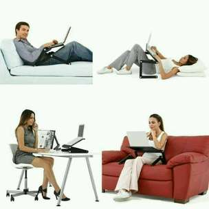 Adjustable Portable Folding Laptop Desk for Bed or Sofa