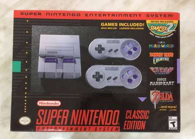 Super Nintendo / SNES Mini Classic Original