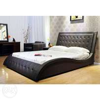 S design king size low height bed