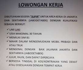 Supir Cari Lowongan Terbaru Di Jakarta D K I Olx Co Id
