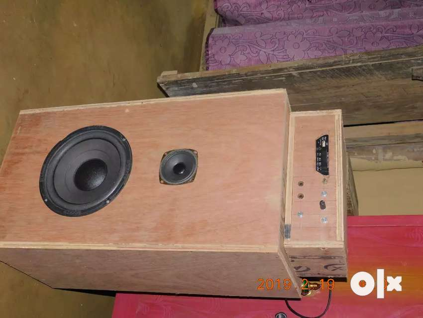 Homemade Amplifier with box