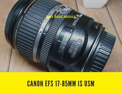 Canon Efs 17-85mm f3.5-5.6 IS USM