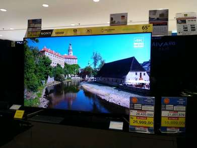 "Tv Led Sony 65"" inchi UHD Android TV Promo (Kredit Cepat Tanpa CC)"