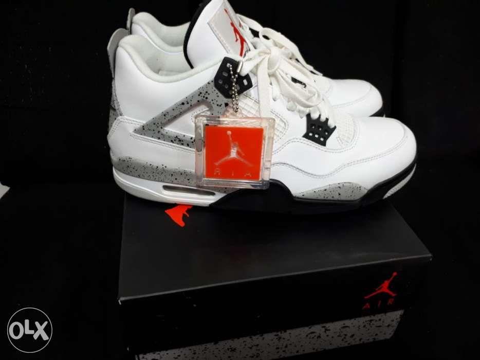 1e903bc4fb1 Jordan 4 white cement not lebron kobe kyrie 1 3 4 5 6 7 9 10 11 in ...