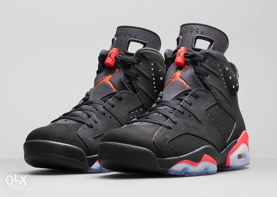 Air Jordan 6 Retro OG-Infrared-9.5 in Makati a9b8488d2