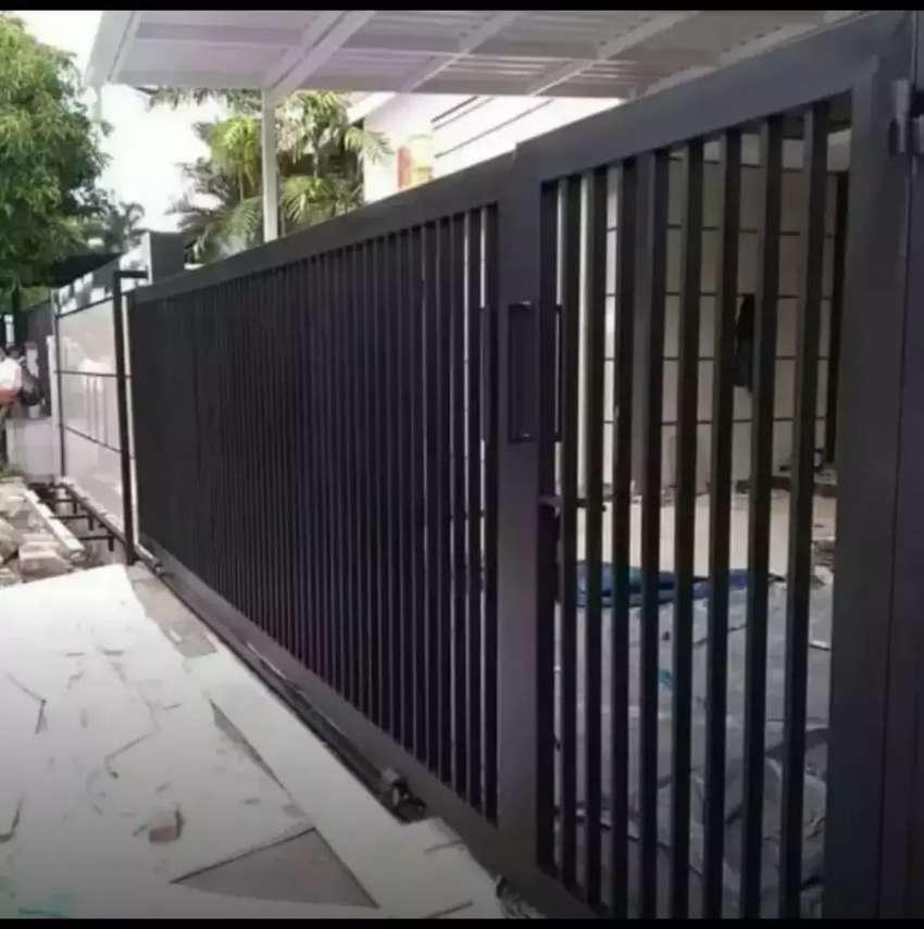 Pagar Minimalis Galvanis 36$ - Konstruksi Dan Taman - 795137991
