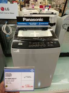 Mesin Cuci Panasonic 8KG DP cuma 199rb