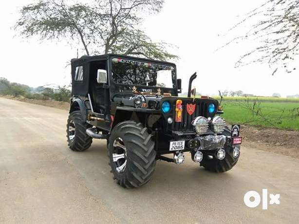 SONU HUNTER JEEPS Simple four by four automatic