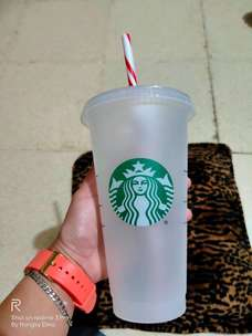 Reusable cup starbucks