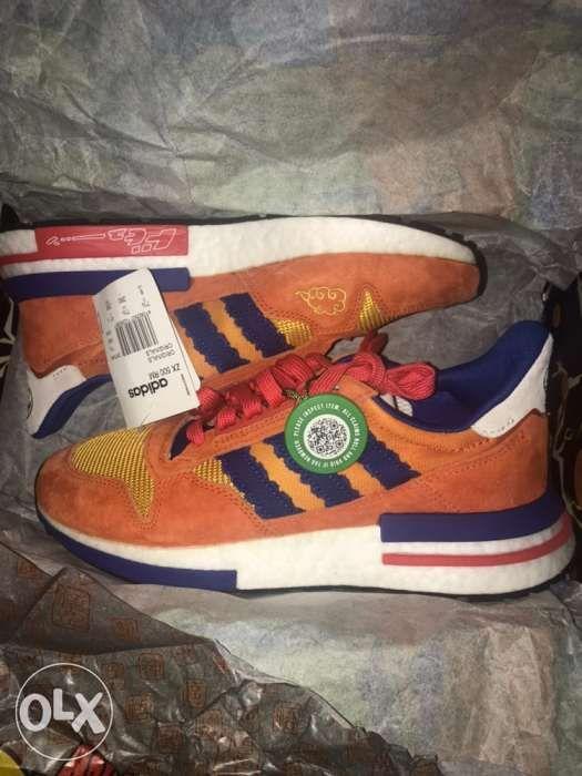 best loved 347ea 0f2d1 Adidas ZX 500 RM Dragon Ball Z Son Goku ...