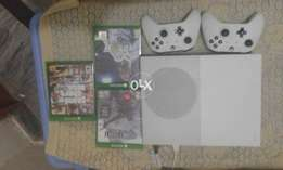 Xbox One S with Four Games/Three month live/Go Gold