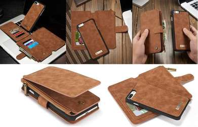 Caseme Iphone 6/6S Wallet Pouch Card Case Leather - FT28H