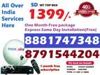 Tata Sky new DTH connection at Rs. 1350/- One Month Free (COD)