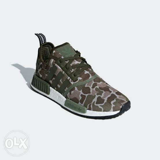 factory authentic 48637 3ce4e Adidas NMD R1 Duck Camo Sesame ...