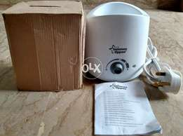 New Tommee Tippee Fast Bottle and FOOD Warmer (Box packed).