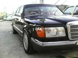 Mercedes Benz S class280SEL black exchange possible with pajero n surf