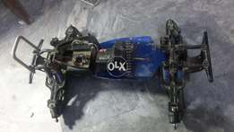 Tamiya TNX 1/8 Chassis in Good Condition