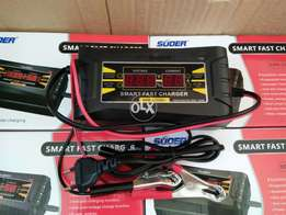 Digital battery charger.