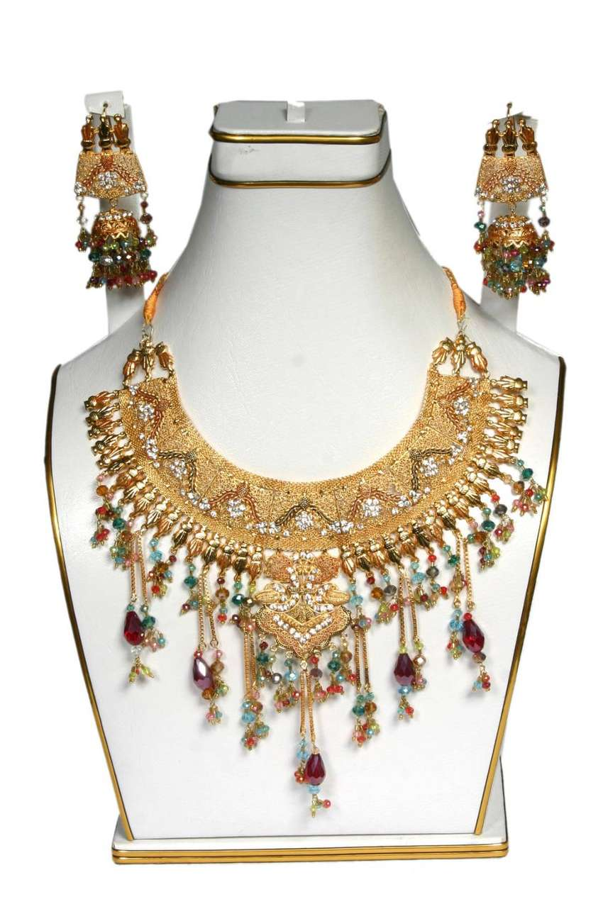 Bridal Jewellery Gold Plated Prominentunique New Design