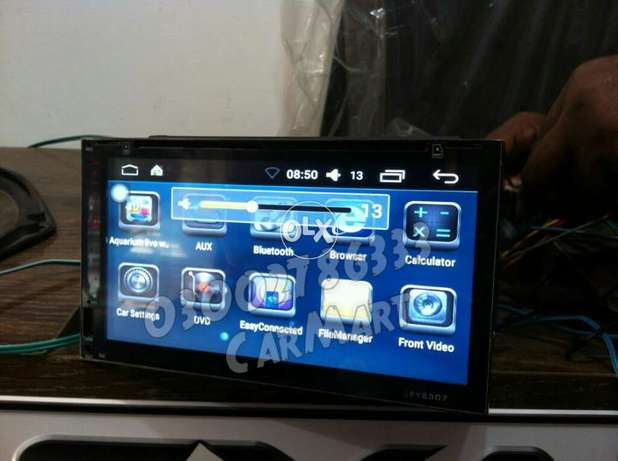 Android Dvd Usb Bluetooth player for your Car now in Pakistan