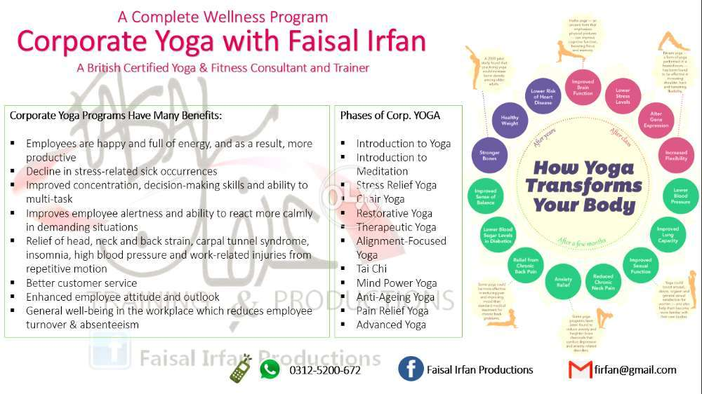 YOGA Classes In Islamabad With Certified Trainer