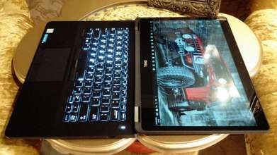 Ultrabook LED QHD Touch Bisnis Dell Latitude Core i5 Ram 8GB SSD 256GB