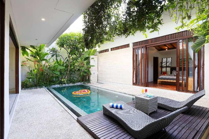 1 Bedroom Private Pool Villa Disewakan Murah Bulanan Di Canggu Bali Disewakan Rumah Apartemen 810581959