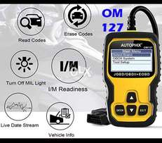 2018 JOBD and OBD2 and EOBD All Car Auto Code Reader OM127 Scanner