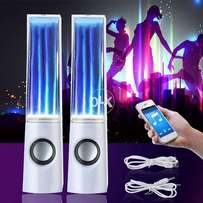 Stereo Music LED Light Water Dancing Speakers Show Music Fountain With
