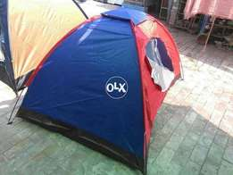 Brand new camping tent, easy assemble and carry able. Available in ev
