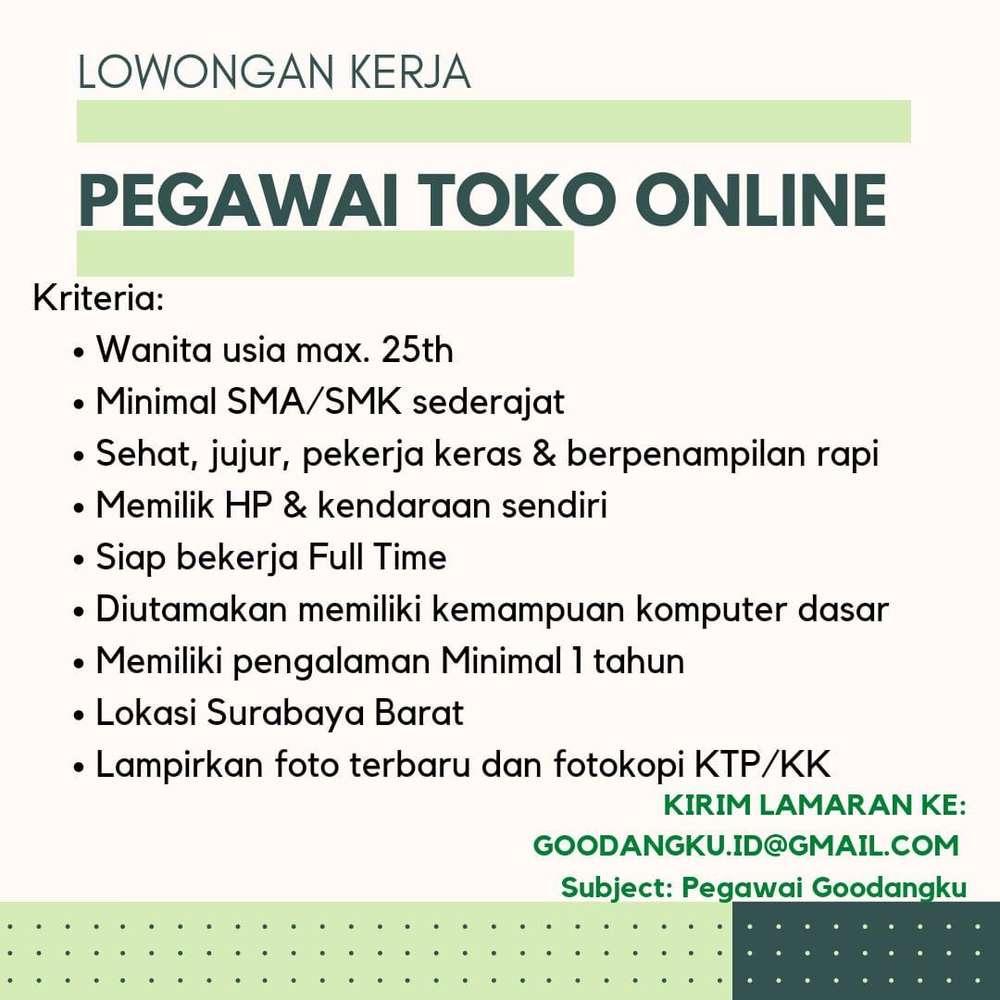 Pakis Cari Lowongan Terbaru Di Indonesia Olx Co Id
