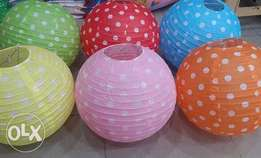Quality Sky lanterns Hanging globes Led balloons Candles