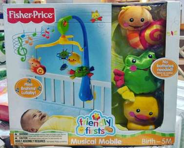 Fisher Price Friendly First Musical Mobile