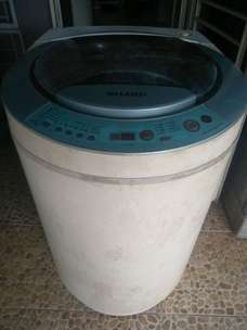 mesin cuci sharp matic es-r80gs 8kg
