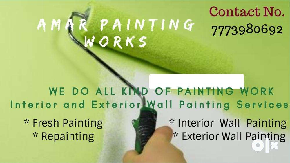 painting work home painting all interior and exterior affordable