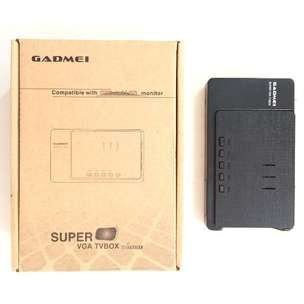 N E W TV TUNER Gadmei Compatible with CRT & LCD Monitor