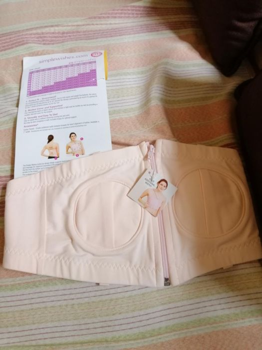 81035bdaa8c23 Simple Wishes d*lite Hands Free Breast Pump Bra in Binan, Laguna ...