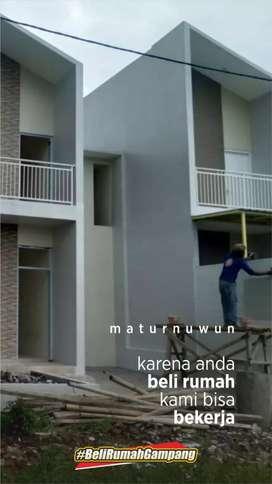 Rumah Minimalis 2 Lantai 100 Jutaan  harga 100juta jual properti murah cari properti di