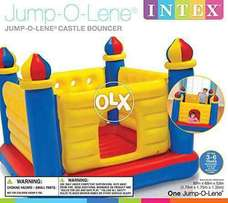 INTEX co. 48259 large jumping castle for kids.