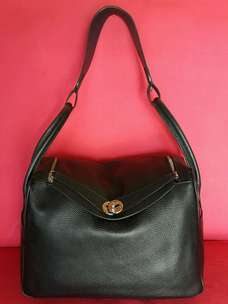 Tas import eks HERMES paris made in France lindy kulit asli ad no seri