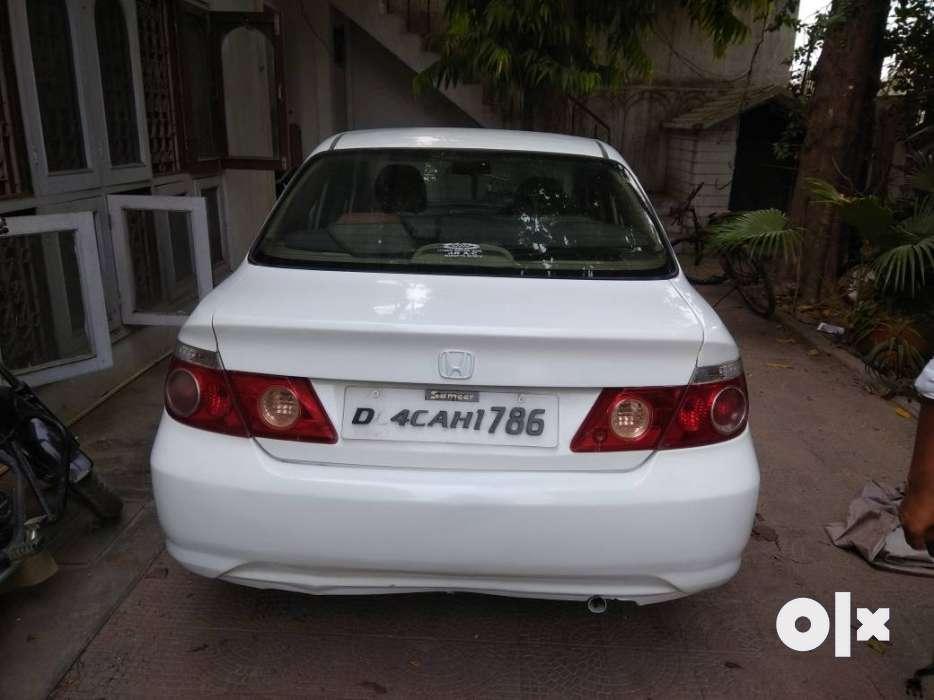 2007 Honda City Zx Cng Vip Number Lucky Car Rampur Cars Bamanpuri