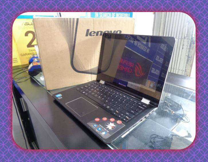 Laptop Lenovo Yoga 300 Intel N3050 1 6ghz Komputer 796199815