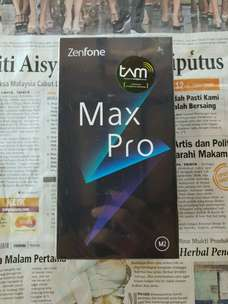 """Biss """"Soko Mas Cell"""" Ready New Asus Zenfone Max Pro 4/64 GB Silver"""