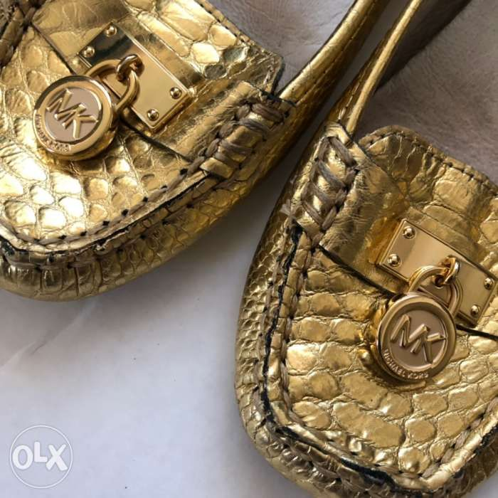 d53808ace01a Gently Used MK Michael Kors Hamilton Loafers Shoes Kate Spade Coach ...