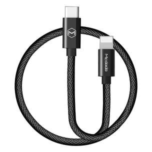 MCDODO CA-498 USB Type-C ke Lightning PD Quick Charger Kabel Type C