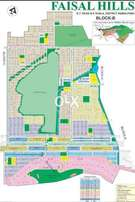 Faisal Hills 5 marla double road nd 60ft road plots available