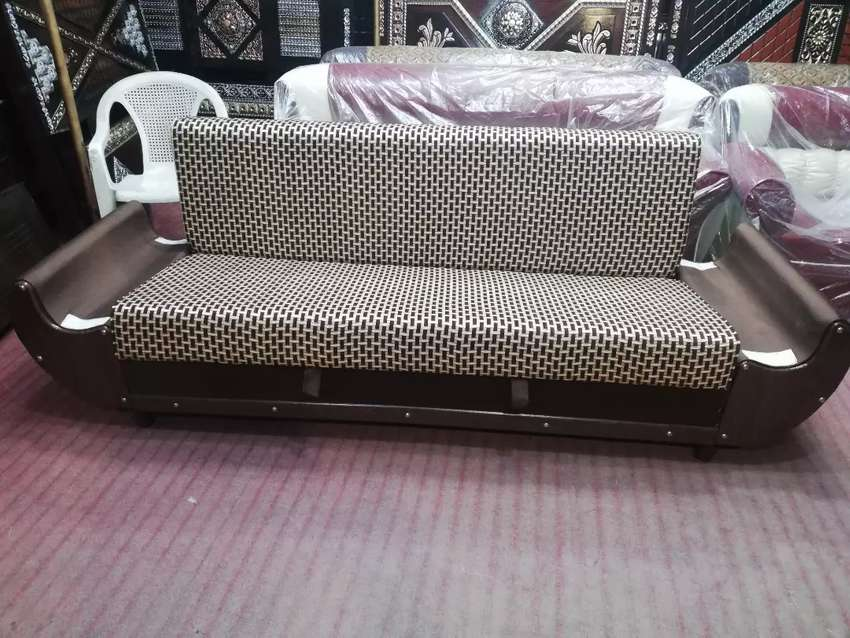 Wooden Sofa Cum Bed Sofa Chairs 1007674075